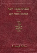 Vest Pocket New Testament-Burgundy Bonded Leather