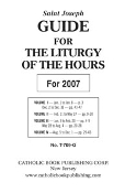 Annual Liturgy Of The Hours Guide-Large Type Edition