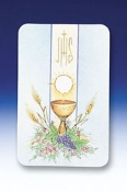 First Communion Holy Card