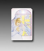 First Communion Holy Card-Girl
