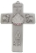 Baptism Pewter Cross - Girl