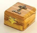 Olivewood RCIA Rosary and Box