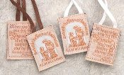 Scapular - Cloth with White Cord