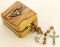 Olivewood Confirmation Rosary and Box